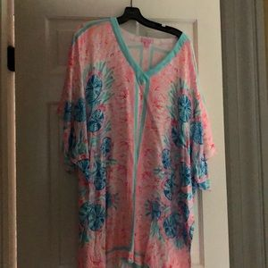 Lily Pulitzer swim cover-up